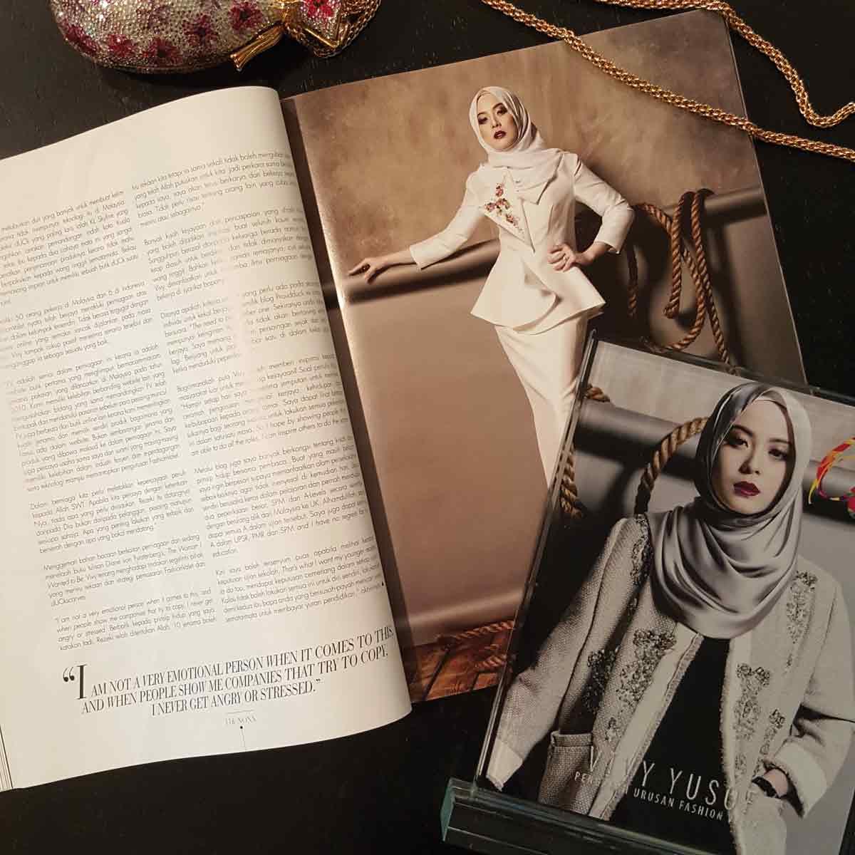 Vivy Yusof, FashionValet, dUCK Scarves, Fashion, Entrepreneurship, Interview