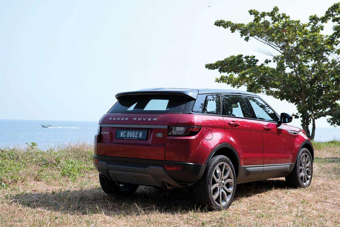 Range Rover Evoque, luxurious