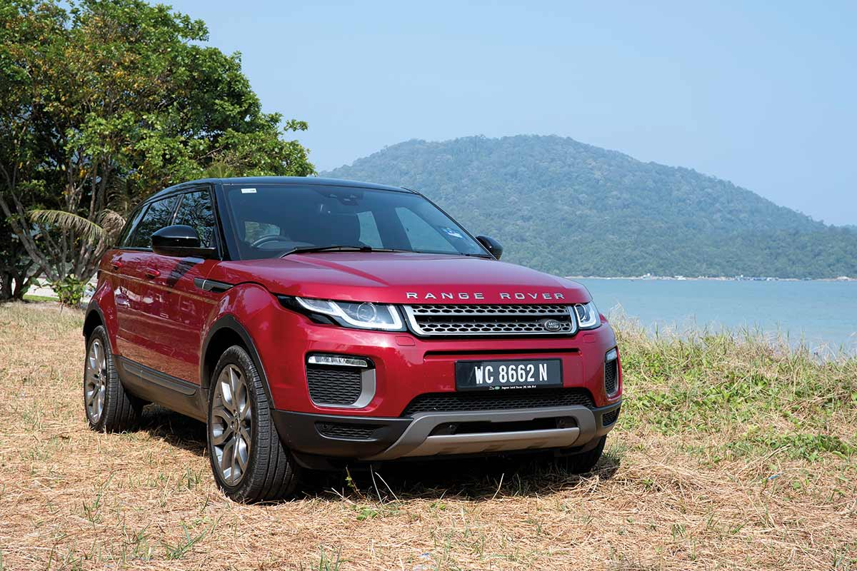 Range Rover Evoque, luxurious 5