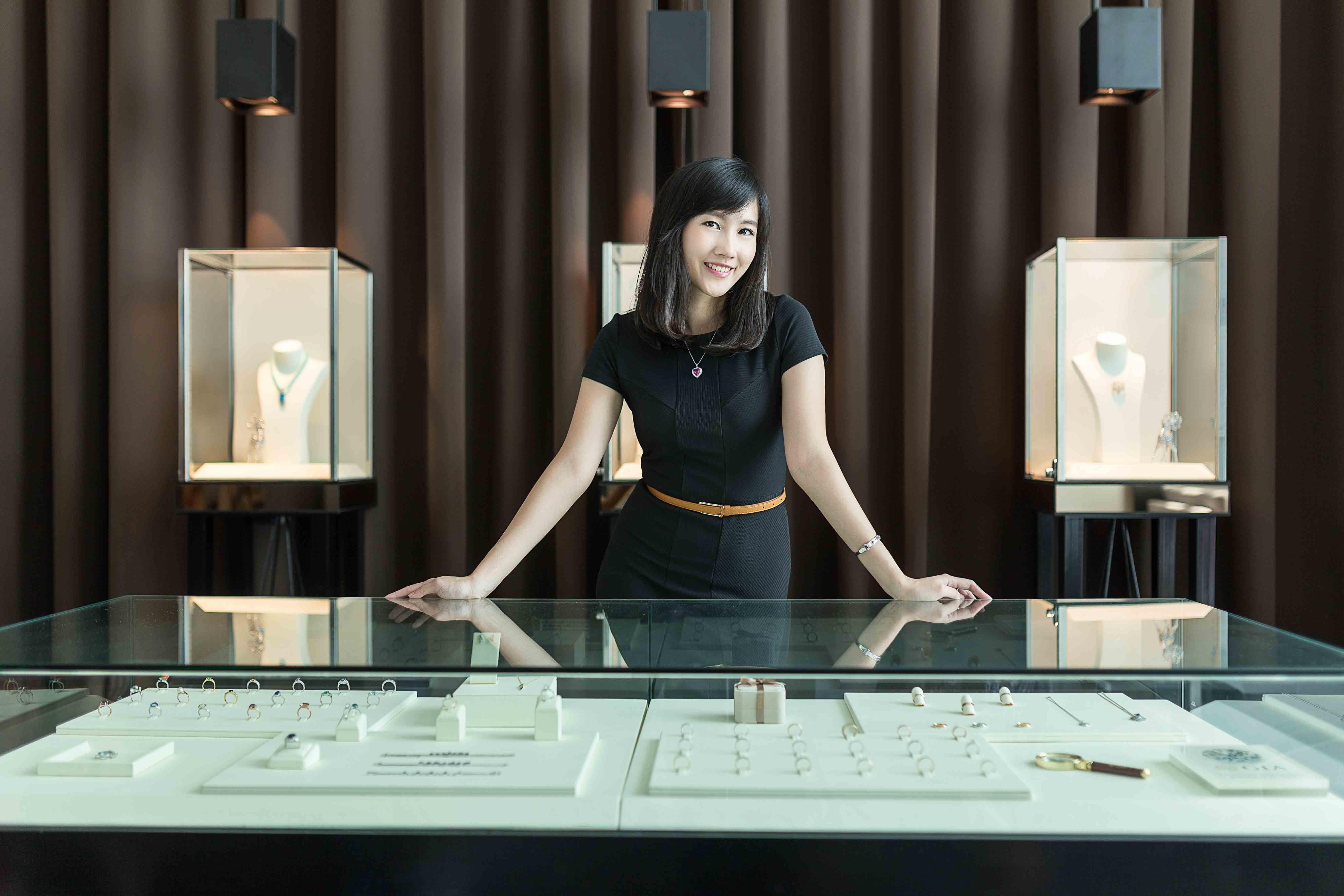 Dorothy Jen Ng, Frou Frou, Jewellery, Gemologist, Penang