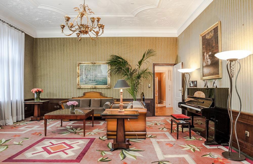 Grunewald Suite Karl Lagerfeld, Patrick Hellmann Schlosshotel, Berlin