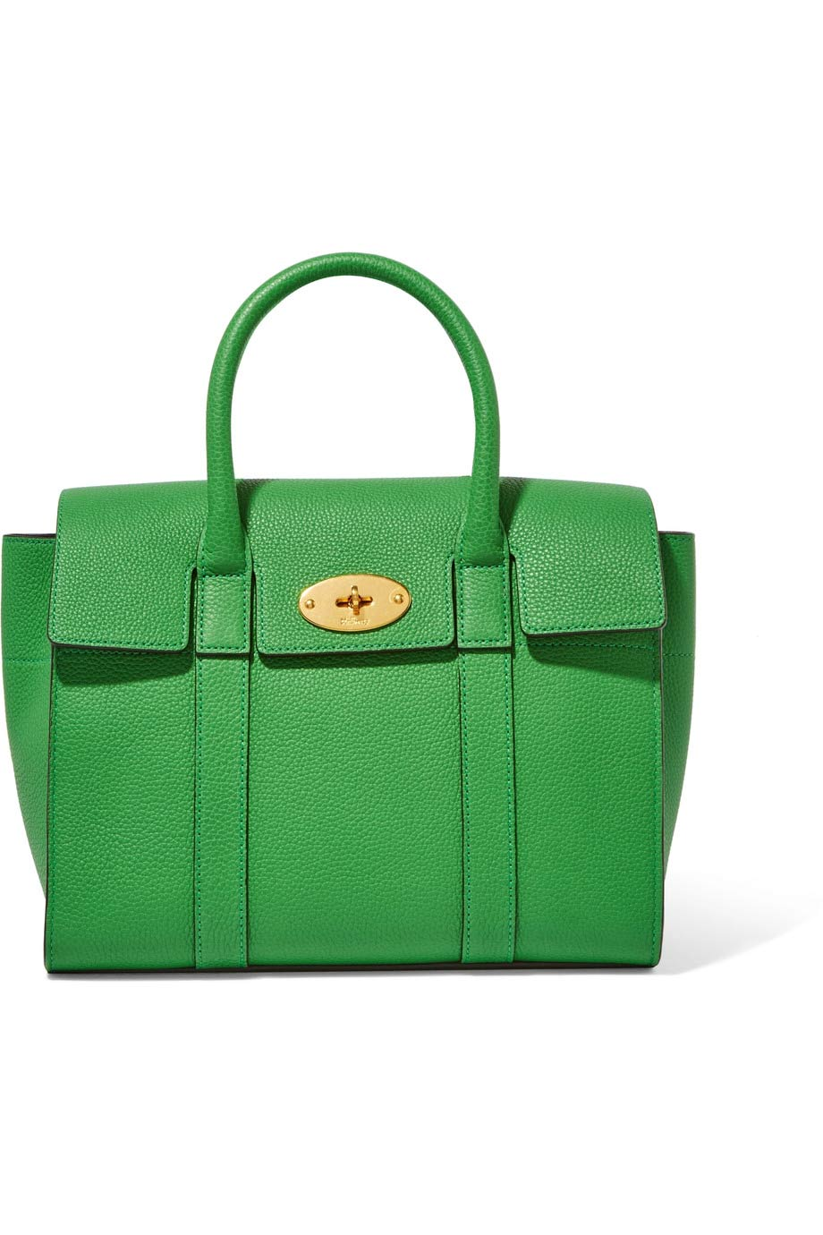 The Bayswater small textured leather tote, Mulberry