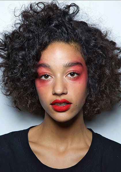 To turn heads, take notes from Kenzo's SS17 makeup look. There's no doubt you will.