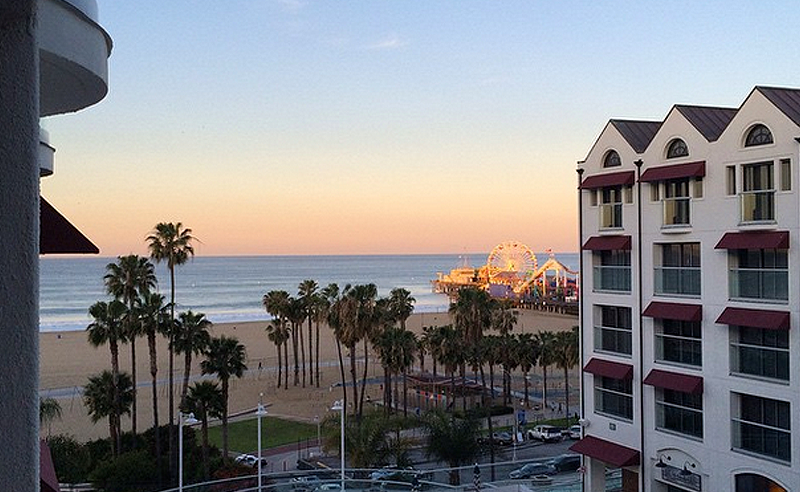 Stay: Loews Santa Monica Beach Hotel