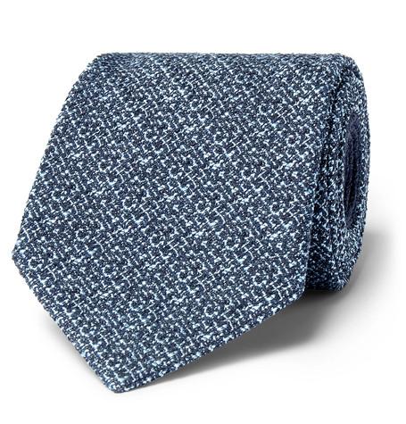 Mélange Silk-Blend Tie, Ermenegildo Zegna
