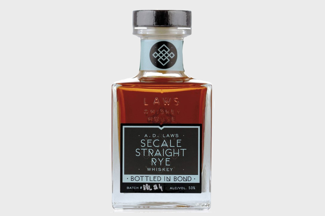 World's Best Rye: A.D. Laws Secale Straight Rye