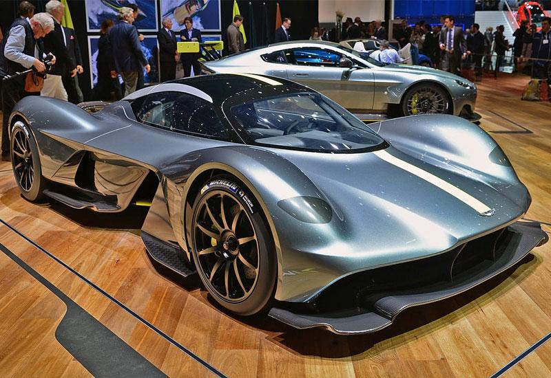 #6. Aston Martin Valkyrie - $3 million