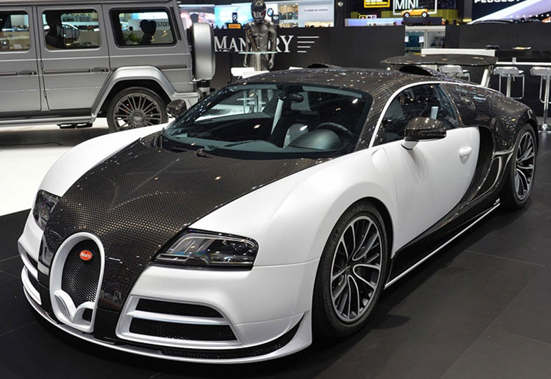 #4. Bugatti by Mansory Vivere - $3.4 million