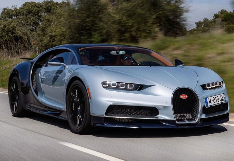 #8. Bugatti Chiron - $2.6 million