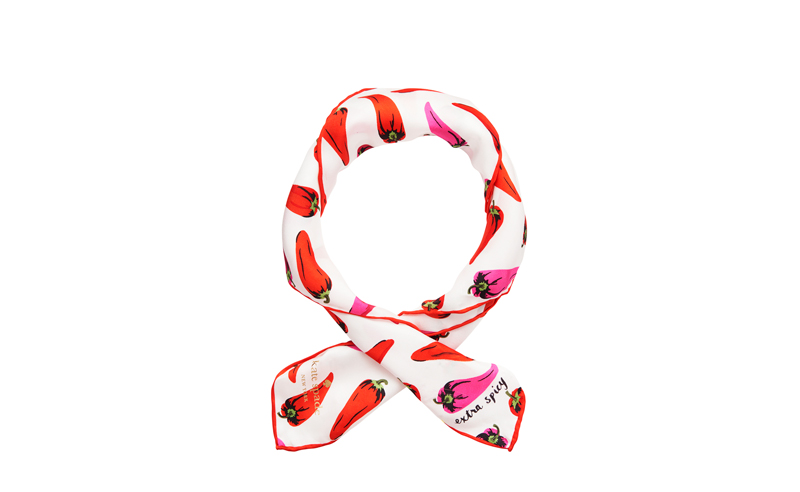 Extra Spicy Scarf White