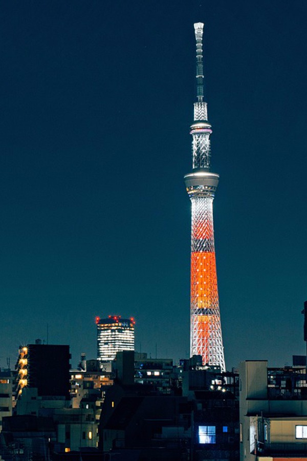 Tallest tower in the world - Tokyo Sky Tree, Japan