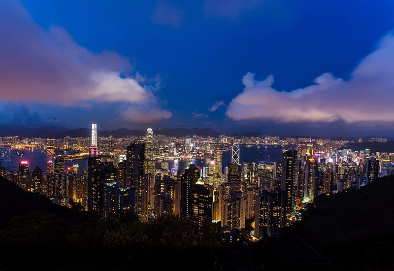 City with the most skyscrapers in the world - Hong Kong, China