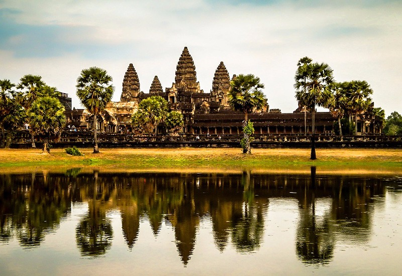 Largest temple in the world - Angkor Wat, Cambodia