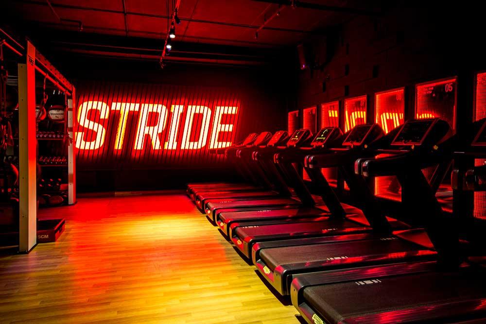STRIDE room