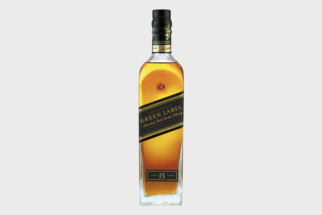 World's Best Blended Malt: Johnnie Walker Green Label