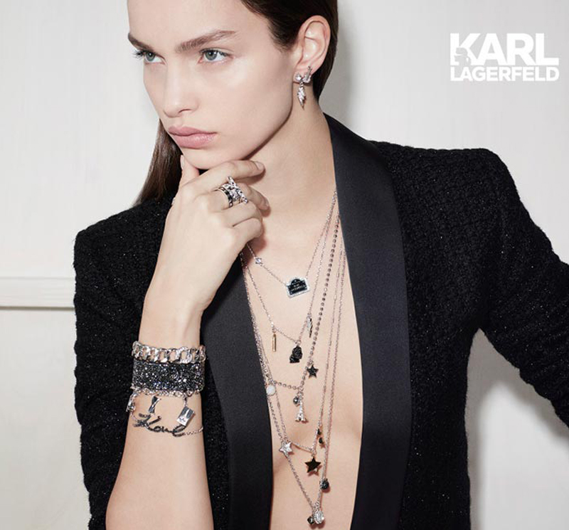96764d101d1df Swarovski gets a touch of Karl Lagerfeld for capsule collection due ...