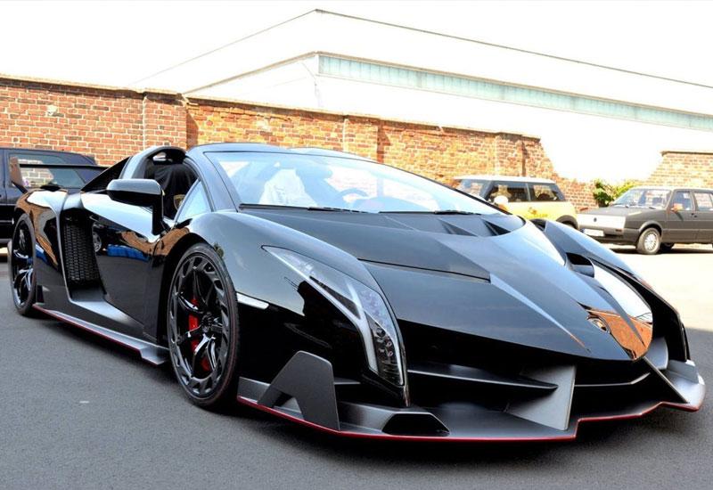 #5. Lamborghini Veneno Roadster - $3.3 million