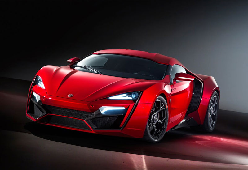 #3. W Motors Lykan Hypersport - $3.4 million