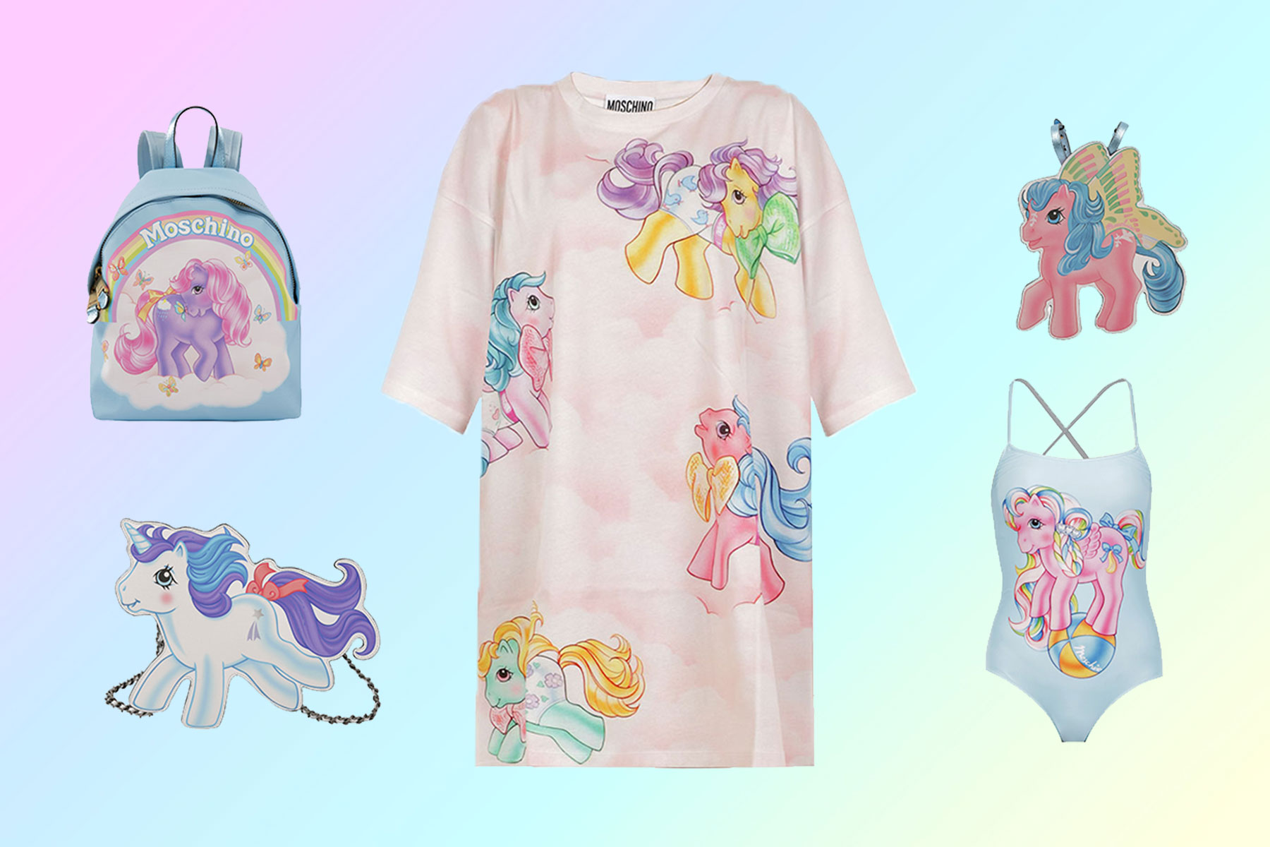 Moschino s SS18 capsule collection is outfit goals for My Little Pony fans 57056eb9aadcb