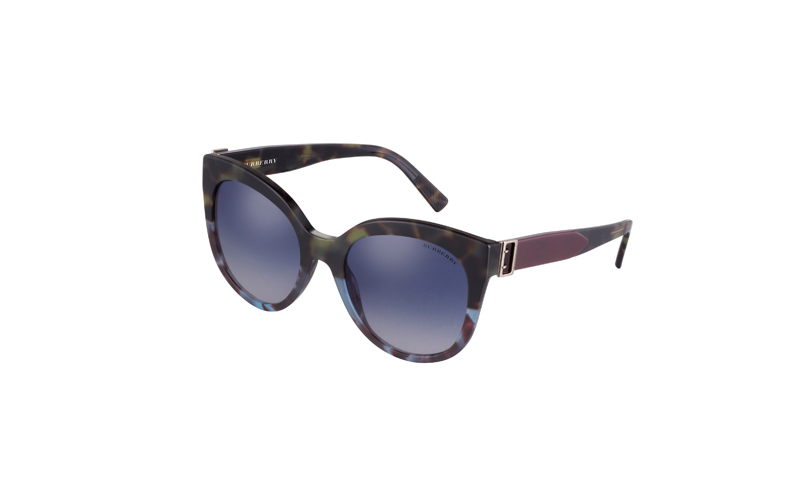 Buckle Detail Cat-eye Frame Sunglasses, Burberry