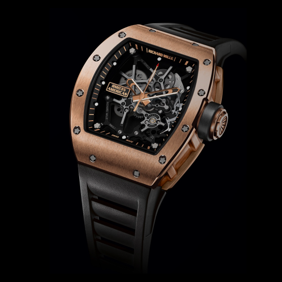 Richard Mille RM035 in Full Rose Gold