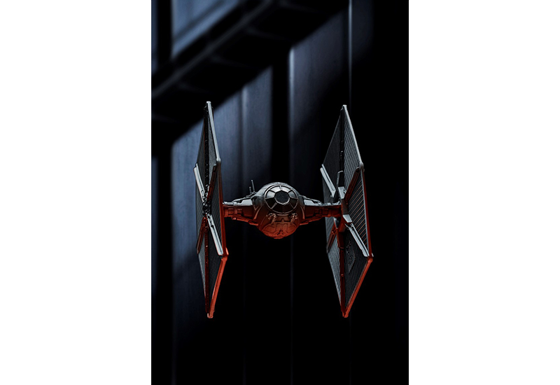 The TIE Fighter model