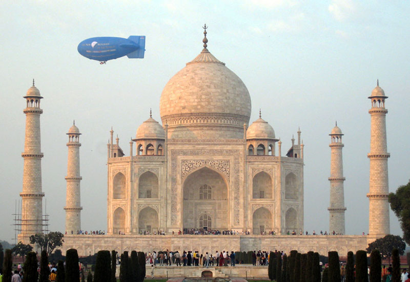 The Taj Mahal, India