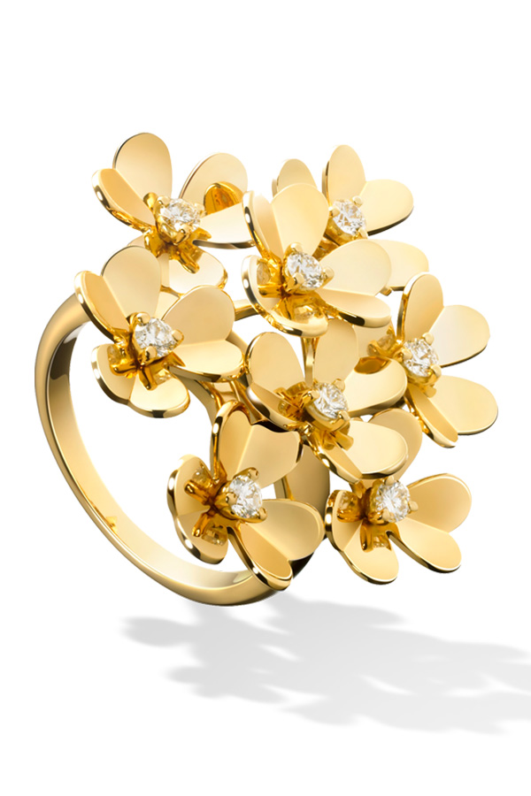 Van Cleef and Arpels Frivole Ring
