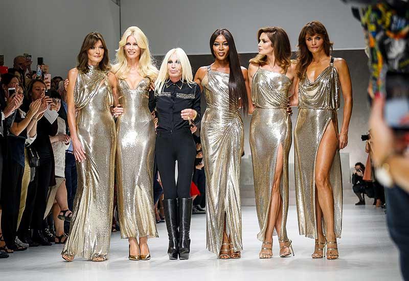 Donatella Versace SS18