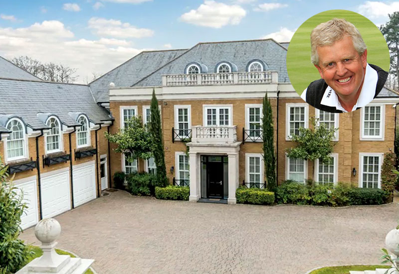 Colin Montgomerie, Heathridge House in Surrey