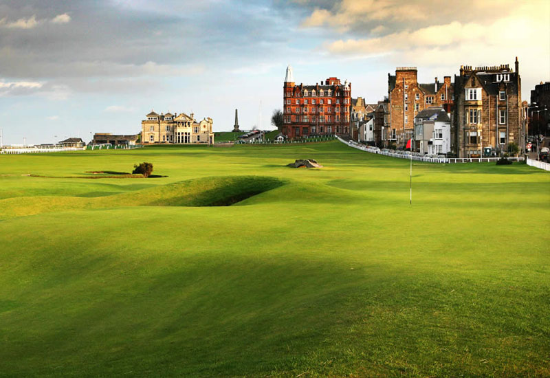 British Open golf courses in Scotland