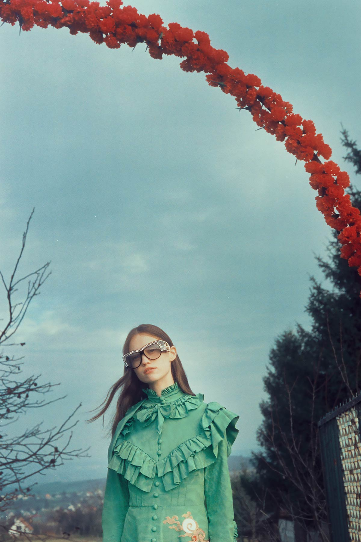 10b84b18658 Get trippy with Petra Collins  latest campaign for Gucci Eyewear ...