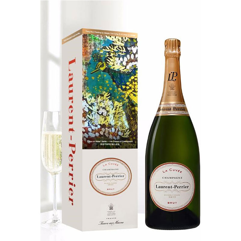 For the classy one: Laurent-Perrier La Cuvée Champagne