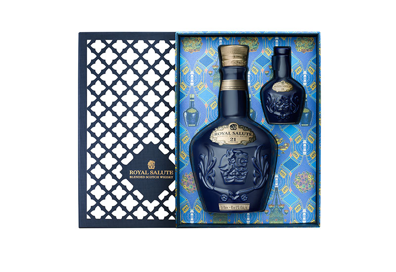For the gentleman: Royal Salute 21 Year Old festive pack