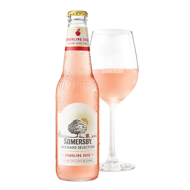 For beer buddies: Somersby Sparkling Rosé