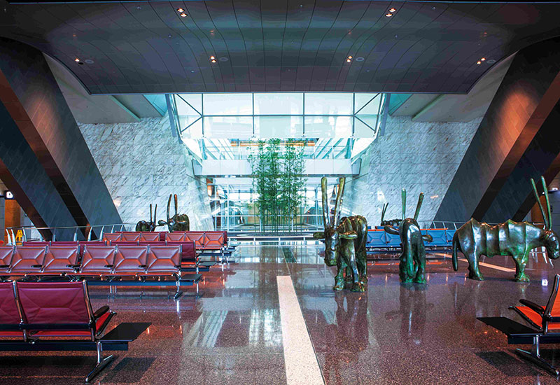#6 Hamad International Airport, Doha, Qatar