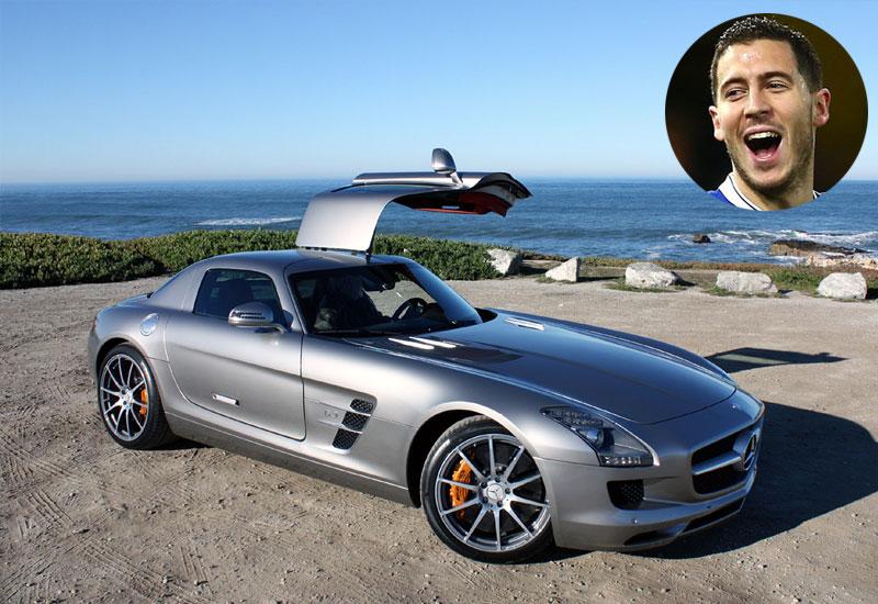 Eden Hazard - Mercedes SLS AMG