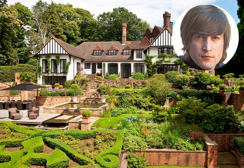 John Lennon, Kenwood in Weybridge