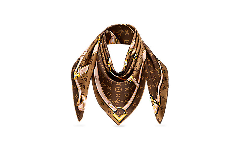 Monogram Confidential Scarf, Louis Vuitton