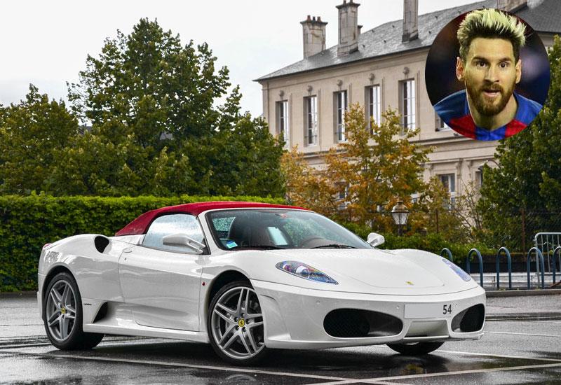 Lionel Messi - Ferrari F430 Spider