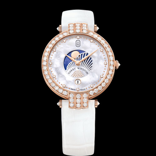 Harry Winston Premier Moon Phase 36mm