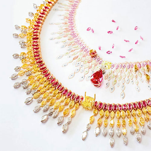 Nightfall Celebration necklace
