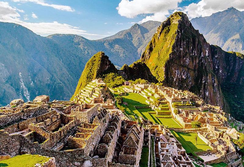 Machu Picchu mountain citadel