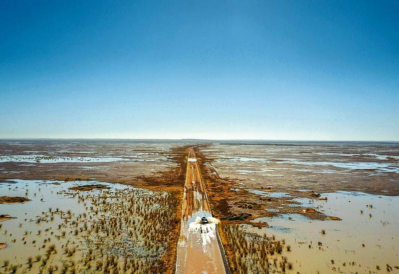 Australian outback near Birdsville