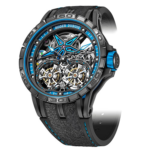 Excalibur Spider Pirelli - Double Flying Tourbillon