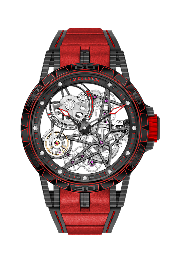 Roger Dubuis Excalibur Spider Carbon Skeleton Automatic
