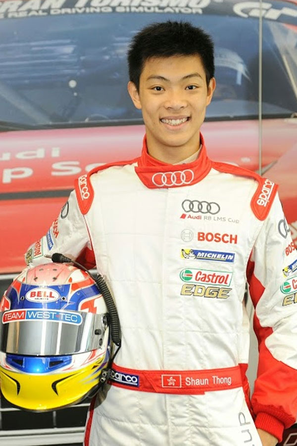 Shaun Thong (Audi TEDA Racing Team)