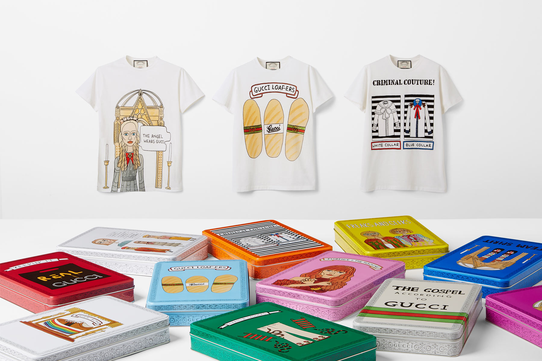 2c29bd75 We want everything from the Gucci x Angelica Hicks T-shirt collab