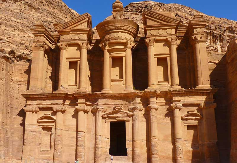 Indiana Jones and the Last Crusade- Canyon of the Crescent Moon: Petra, Jordan