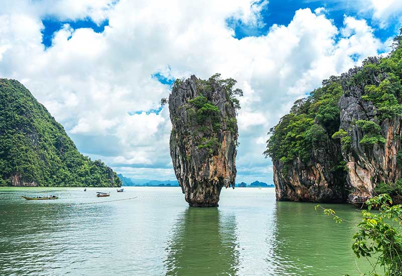 James Bond (The Man with the Golden Gun): Phuket, Thailand